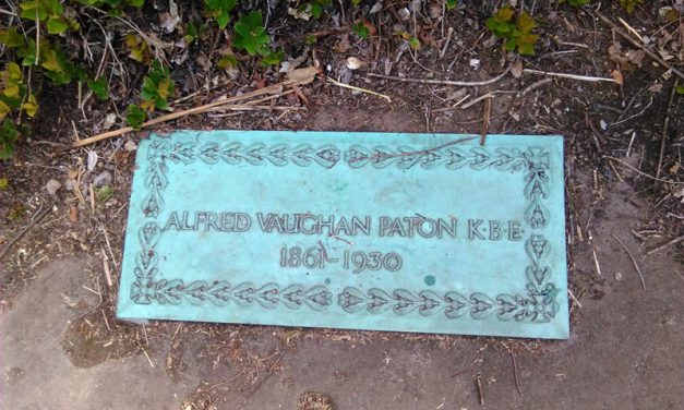 Out and About In Caldy Village: Sir Alfred Vaughan Paton