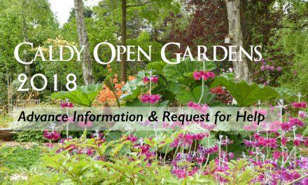 Caldy Open Gardens 2018