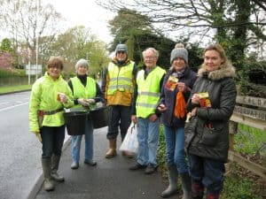 Community Gardening & Bulb Planting